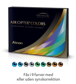 Air Optix Colors kontaktlinser