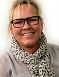 Optikerassistent Annisette Jeppesen fra Friis Optik