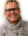 Optikerassistent Annisette Jeppesen fra Friis Optik