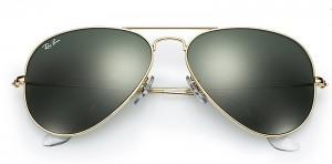 Ray Ban Aviator solbriller, fra Friis Optik