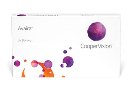 CooperVision Avaira-kontaktlinseæske