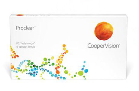 Æske med CooperVision Proclear Sphere-kontaktlinser