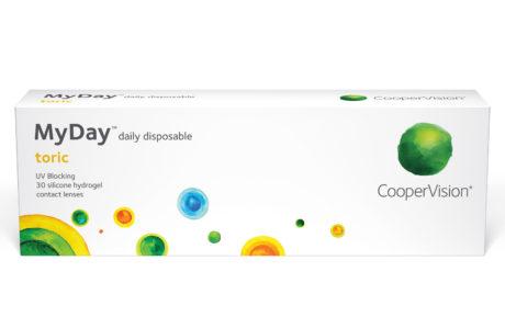 Æske med Cooper Clariti 1 day Toric-kontaktlinser