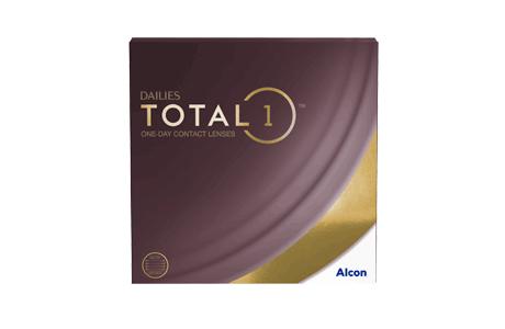 Pakke med Dailies Total1 kontaktlinser - 90 stk.