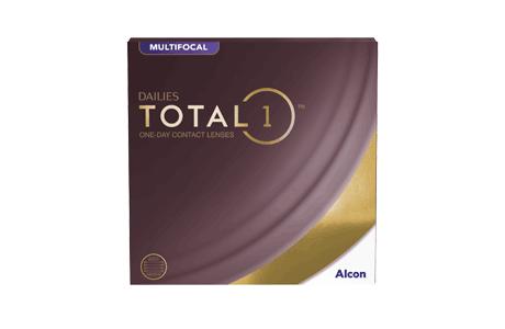 Pakke med Dailies Total1 multifocal kontaktlinser - 90 stk.