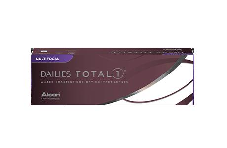 Æske med Alcon Dailies Total 1-kontaktlinser