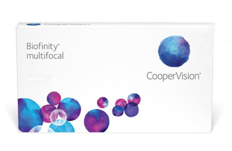 Æske for CooperVision Biofinity Multifocal-kontaktlinser