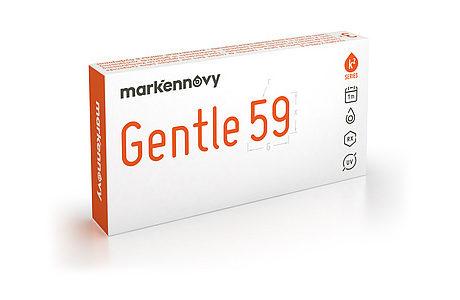Æske med VisionCare Gentle 59 Multifocal Toric-kontaktlinser