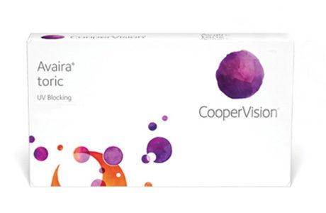 Æske for CooperVision Avaira Toric.