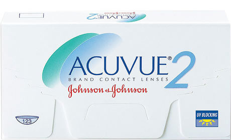 Æske for Johnson&Johnson Acuvue 2-kontaktlinser