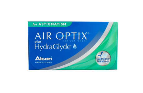AIR OPTIX® plus HydraGlyde® for Astigmatism