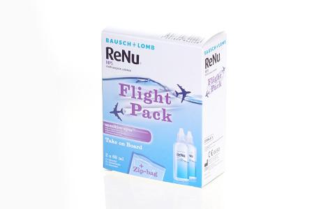 Rejsepakke med ReNu MPS kontaktlinsevæske fra Bausch + Lomb