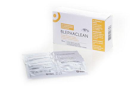 Æske med Blephaclean-vådservietter