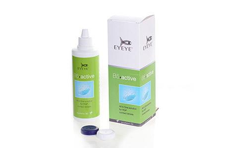 Pakke og flaske med Eyeye b5 Active