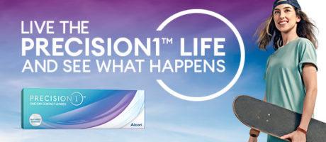 Alcon Precision kontaktlinser