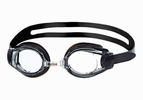 Primotec Eyeline Optique sort svømmebriller