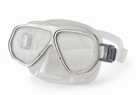 Primotec dykkemaske M100 sølv