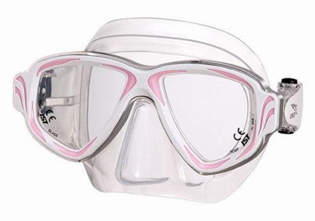 Primotec dykkemaske M200 pink/hvid