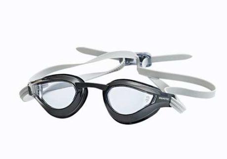 Røgfarvede svømmebriller med styrke til voksne