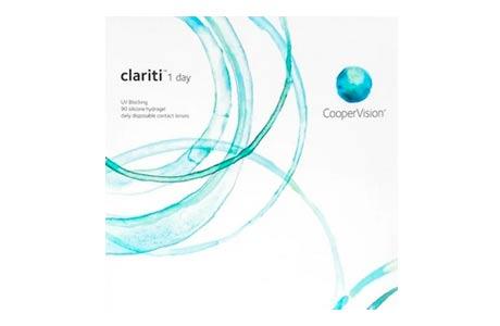 Æske med CooperVision Clariti 1 day-kontaktlinser 90 stk